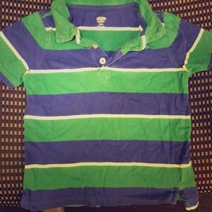 Size 4t old navy polo shirt